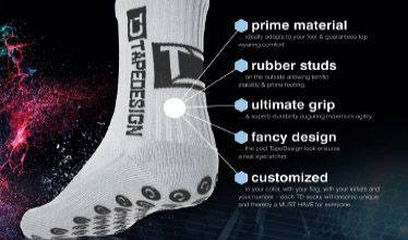 Tape Design Socks