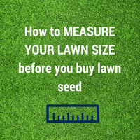 How to Measure your Lawn size before you buy Lawn Seed