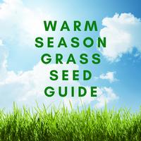 Warm Season Grass Seed Guide