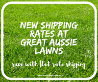 New Shipping Rates for Lawn Seed and Fertiliser