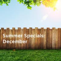 SUMMER SPECIALS 2018