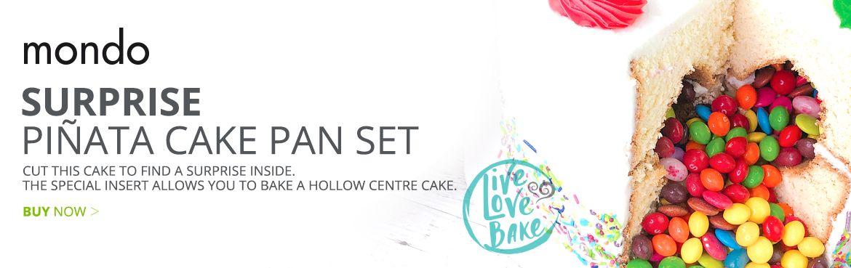Mondo Pinata Cake Pan Set