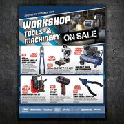 Workshop Tools & Machinery - August to October Sale Now On