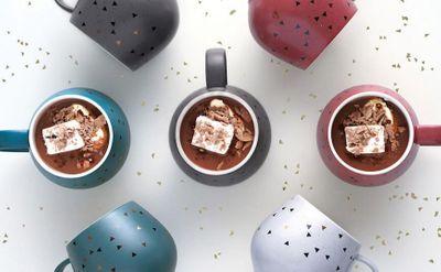 Easy Hazelnut Hot Chocolate with Snug Mugs