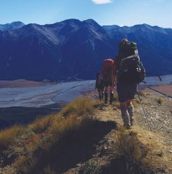 Eight trampers rescued overnight from Southern Alps