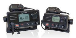 Raymarine's next generation VHFs include built-in GPS & DSC