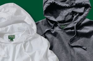 New Product - Colours of Cotton Long Sleeved Hooded Tee