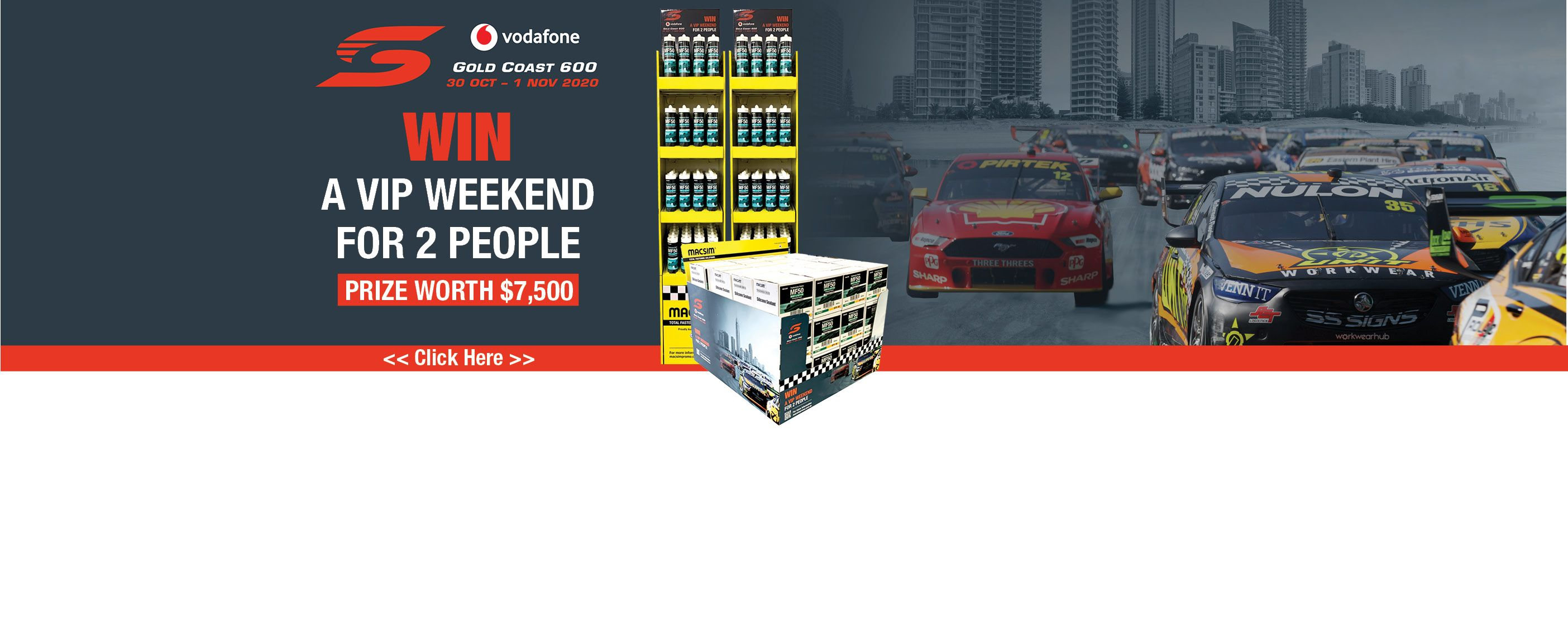 Supercars Silicone Promotion