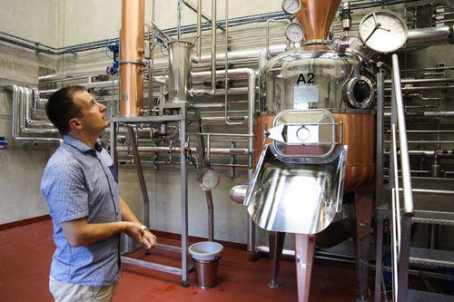A visit to Distilleries de Provence