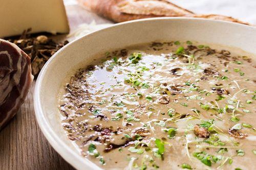 Chestnut & Porcini Mushroom Velouté
