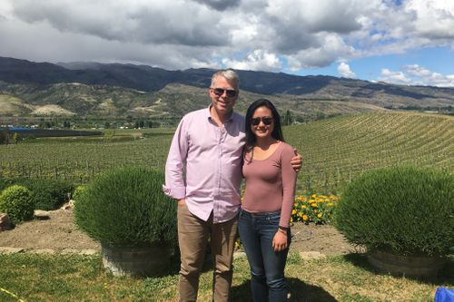 A picturesque visit to Domaine Thomson