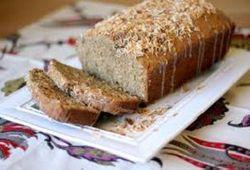 BANANA CHIA & COCONUT BREAD