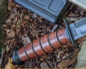 Ka-Bar Leather Handled Fighting / Utility Knives 2019