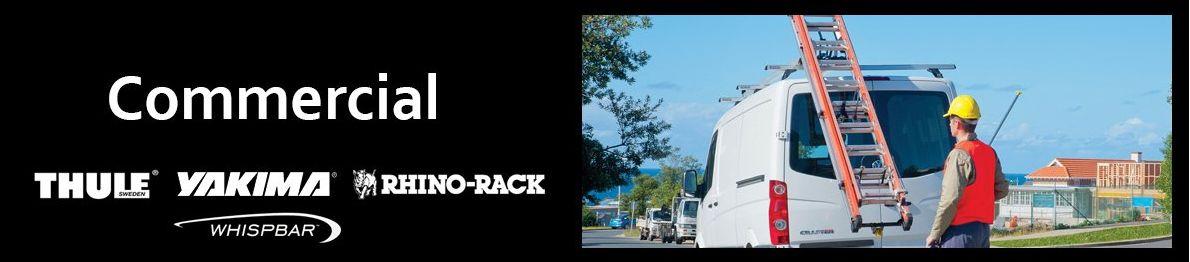 Commercial roof racks