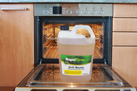 What products to use when cleaning ovens and grills?