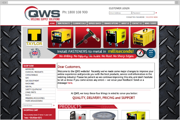 QWS Welding Supply Solutions